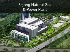 Sejong Natural Gas & Power Plant